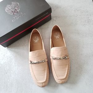 Vince Camuto Perenna Convertible Loafer  Red Size